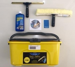 Window Cleaning Kit with Bucket Complete