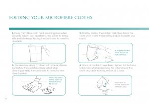 Techno-Clean Microfibre Cloths BLUE