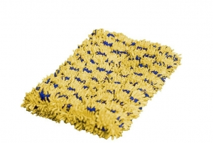 Microfibre Scrubby Scourer Yellow - Click for more info