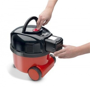 Numatic Henry Battery Vacuum Cleaner Red - Click for more info