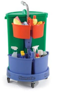 Numatic Carousel NC-3  Cleaners Trolley - Click for more info