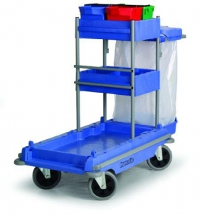 Numatic All Terrain Janitorial Trolley - Click for more info