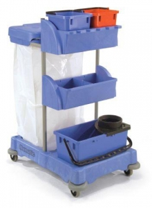 Numatic XC1 Versaclean Cleaners Trolley - Click for more info