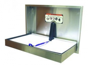 Stainless Baby Change Station Parrallel - Click for more info