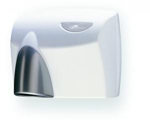 JD McDonald Autobeam White Hand Dryer - Click for more info