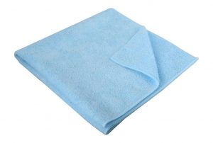 Microfibre Cloth Thick 40 x 40cm Blue - Click for more info