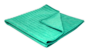 Microfibre Cloth Thick 40 x 40cm Green - Click for more info