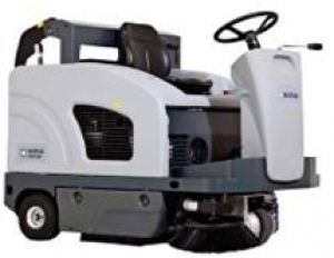 Nilfisk SW4000 LPG Ride On Sweeper - Click for more info