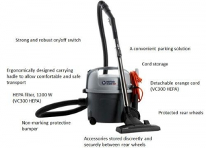 Nilfisk VP300 ECO Vacuum Cleaner - Click for more info
