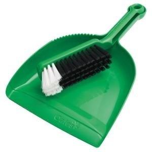 Oates Dustpan & Brushware Green