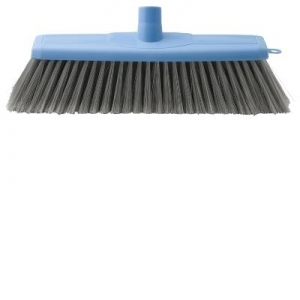 Oates Indoor Broom 29CM with Handle Blue - Click for more info