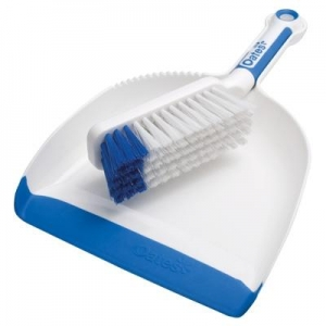 Oates Soft Grip Dust Pan & Brush Set - Click for more info