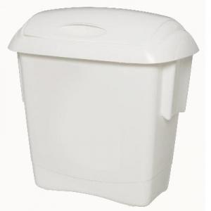 Oates Kitchen Bin Small White 13L - Click for more info