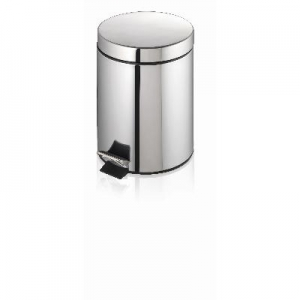 Oates Stainless Steel Pedal Bin 5L - Click for more info