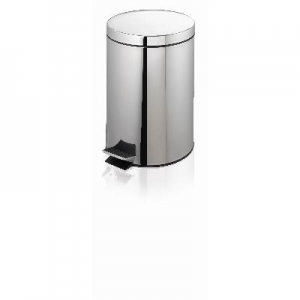 Pedal Bin Stainless Steel 12L BB-012SS - Click for more info