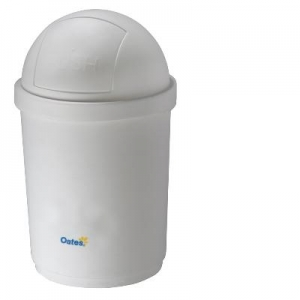 Oates Domed Bin White 28L - Click for more info