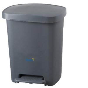Oates Pedal Bin Grey 30L - Click for more info