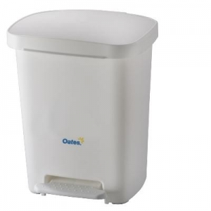 Pedal Bin White 30L - Click for more info