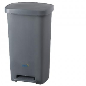 Pedal Bin Grey 50L - Click for more info