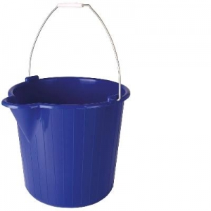 Oates Bucket Wire Handle 12L Blue - Click for more info