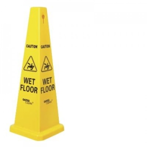 Oates Caution Cone Sign Medium 69cm High - Click for more info