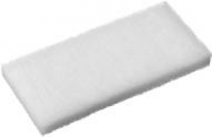 Oates Eager Beaver White Scourer 23x15cm - Click for more info