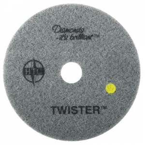 Oates Twister Diamond Pad Yellow 40cm - Click for more info