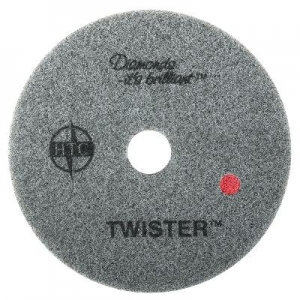 Oates Twister Diamond Pad Red 40cm - Click for more info