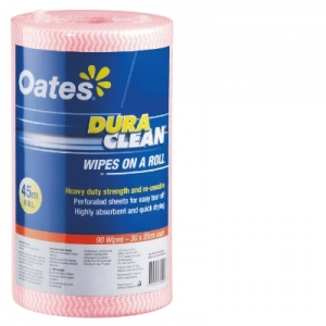Oates Durawipe on a Roll 45m Blue