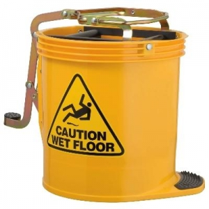 Oates Contractor Wringer Mop Bucket Ylw - Click for more info