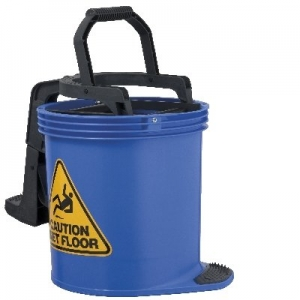 Oates Duraclean Mop Bucket 15L Blue - Click for more info