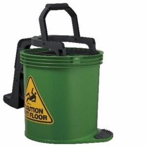 Oates Duraclean Mop Bucket 15L Green - Click for more info
