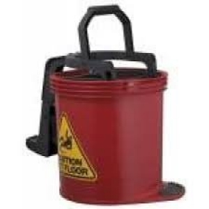 Oates Duraclean Mop Bucket 15L Red - Click for more info