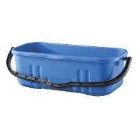 Oates Duraclean Flat Mop Bucket Blue 18L - Click for more info