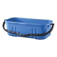 Oates Duraclean Flat Mop Bucket Blue 18L