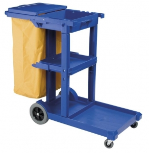 Cleaners Trolley Janitors Oates JC-175BL - Click for more info