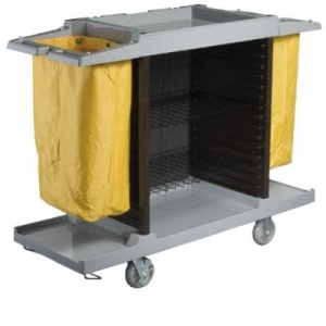 Oates Housekeeping Trolley Grey - Click for more info