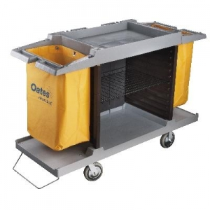 Room Service Cart Low Grey JC-178GR - Click for more info