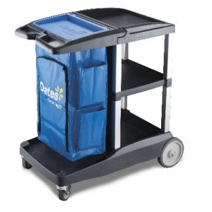 Housekeepers Trolley Compact Cart - Click for more info
