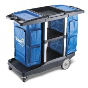 Oates Platinum Housekeepers Trolley - Click for more info