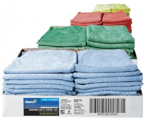 Oates Microfibre Cloths Green - Click for more info