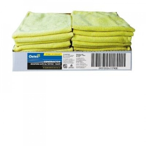 Oates Microfibre Cloth Yellow 20x$1.50ea - Click for more info