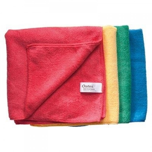 Budget Microfibre Cloth MF-034 Red - Click for more info