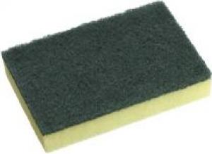 Oates Scourer Sponge Yellow&Green15x10cm