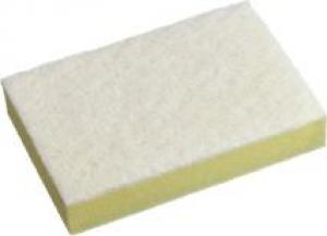 Oates Scourer Sponge Yellow & White