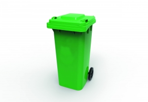 120L Wheelie Bin Green - Click for more info