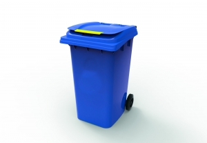 240L Wheelie Bin Blue - Click for more info