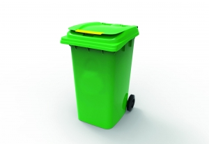 240L Wheelie Bin Green - Click for more info