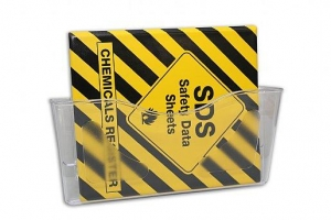 MSDS Folder Holder Wall Mounted - Click for more info