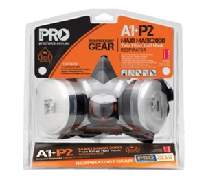 Pro Choice HMA1P2 half mask complete - Click for more info